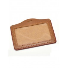 Brown H ID Holder
