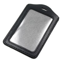 Black V ID Holder