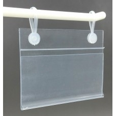 price Holder With Snap Clips