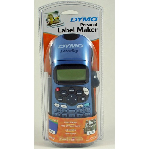 dymo personal label maker letratag plus lt 100h s0725580. Black Bedroom Furniture Sets. Home Design Ideas