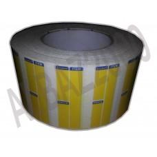 Shelf Label 70mm x 32mm TTR 3 inch core