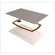 Rfid cards 1.8mm thickness TK4100  proximity 125 khz clamshell